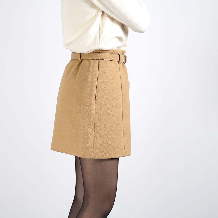 ベルト&ポンポン付ミニスカート 6