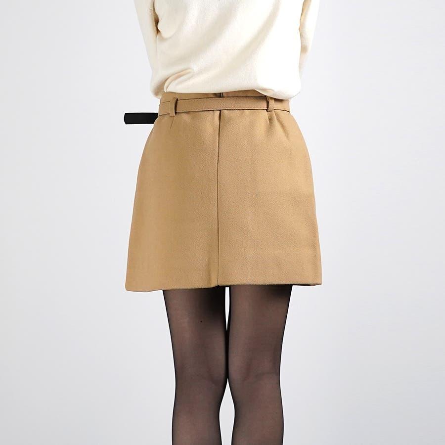 ベルト&ポンポン付ミニスカート 7