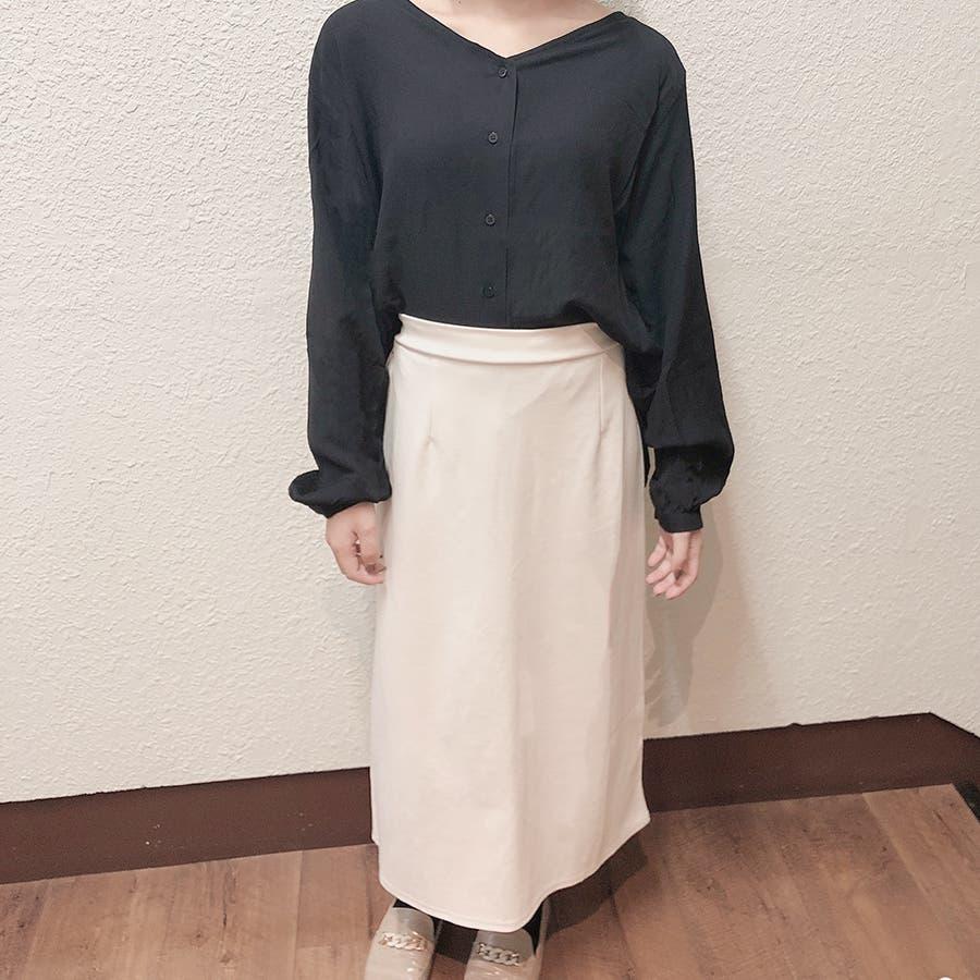 シンプルロングスカート 2