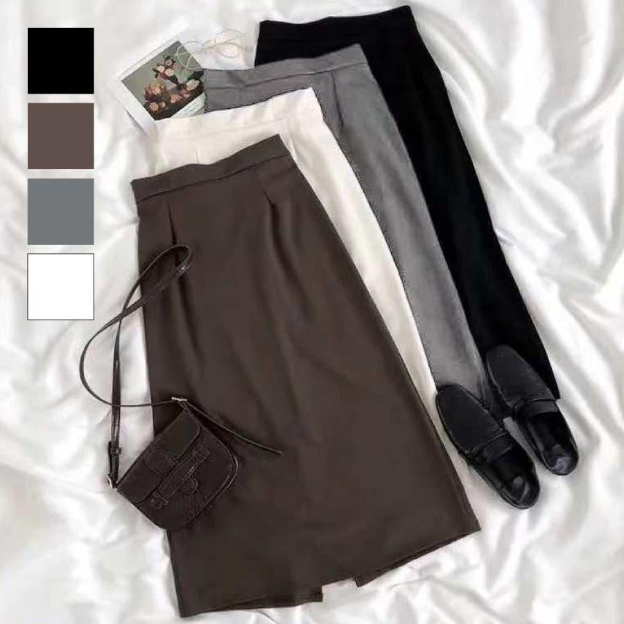 シンプルロングスカート 1