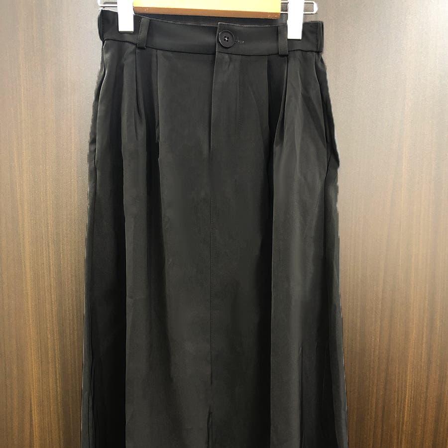 シンプルフレアスカート スカート レディース 21