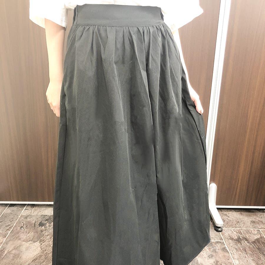 ミモレフレアスカート スカート レディース 3