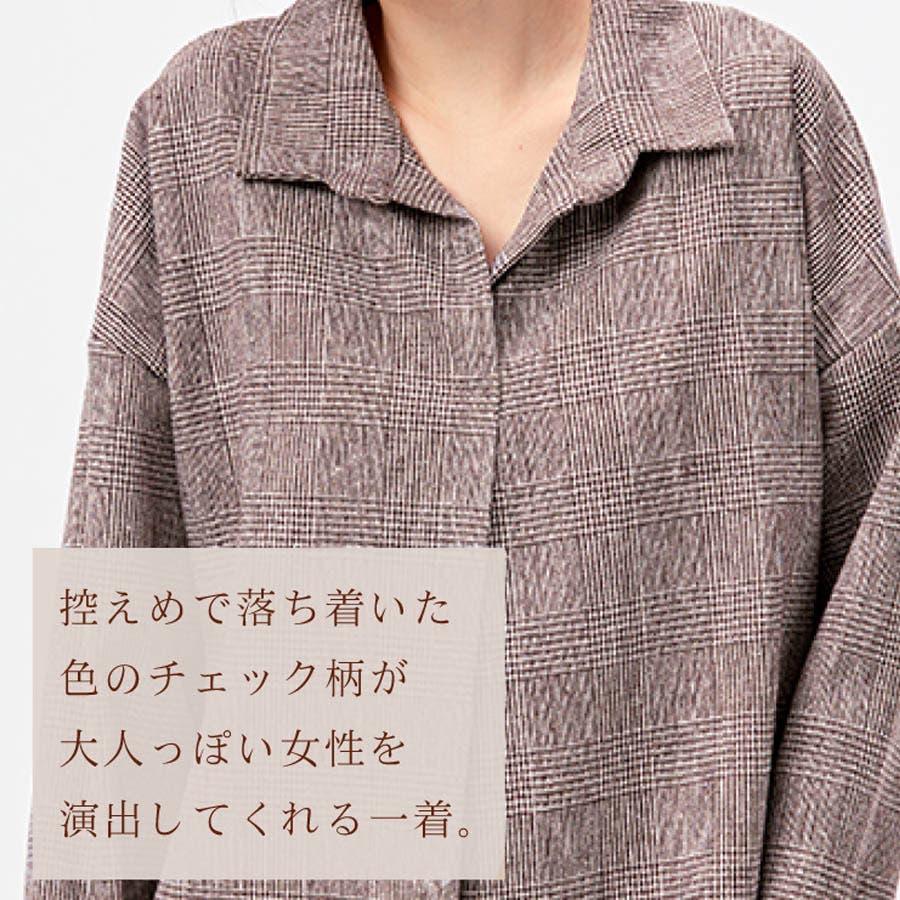 トップス ブラウス レディースチェックシャツ 6