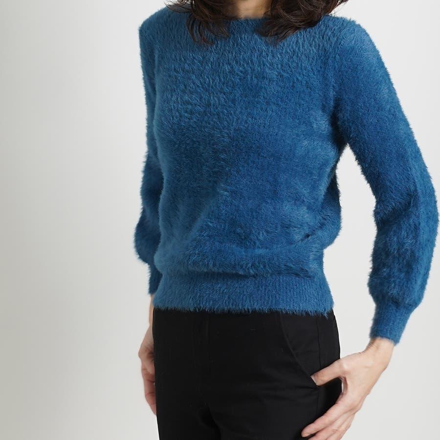 さらふわカラーセーター 70