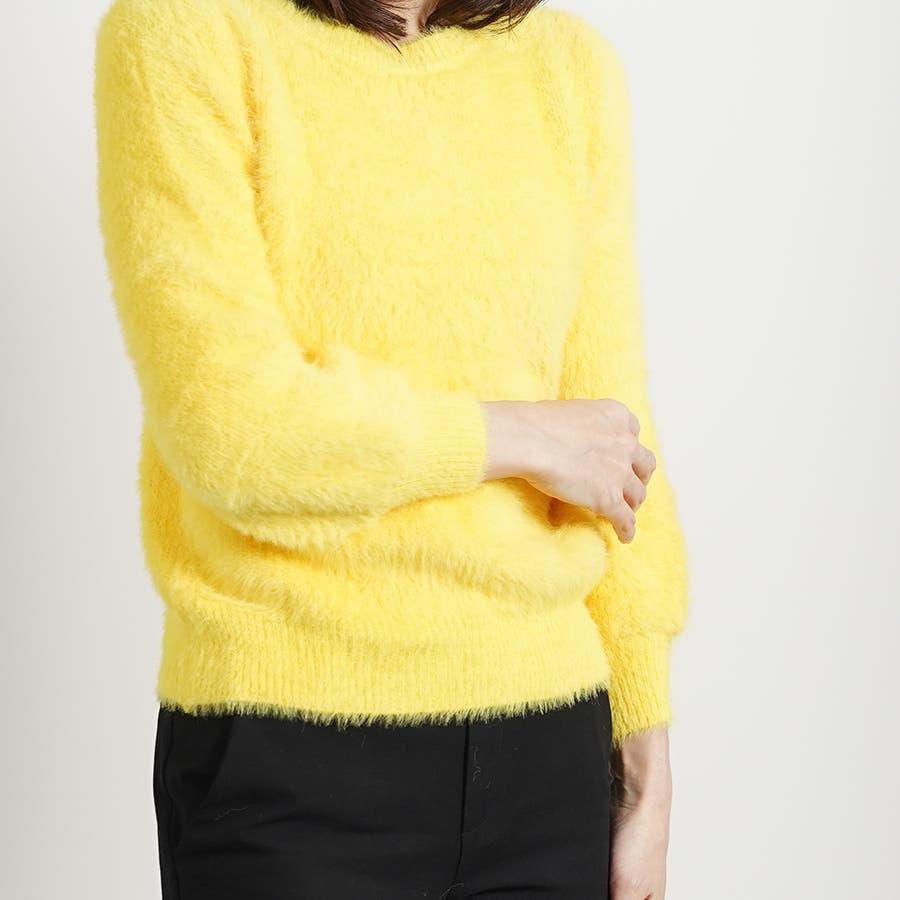 さらふわカラーセーター 83