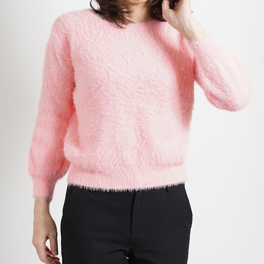 さらふわカラーセーター 87