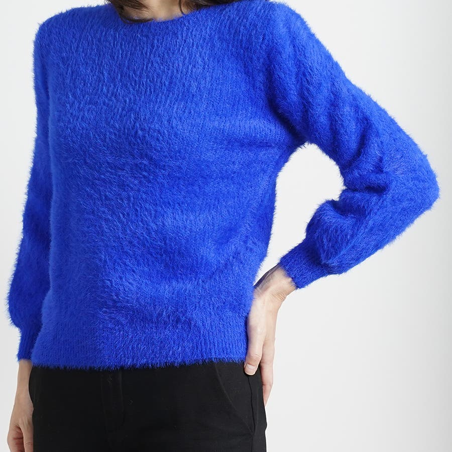 さらふわカラーセーター 59