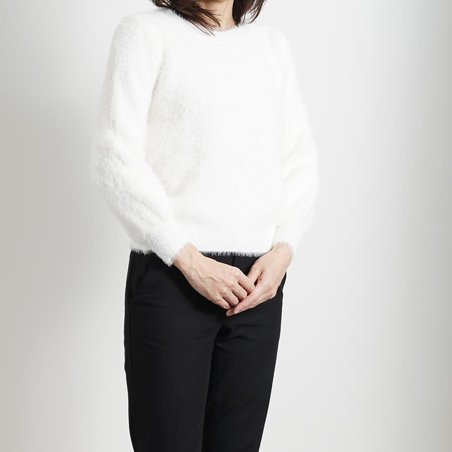 さらふわカラーセーター 16