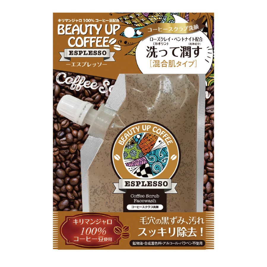ビューティアップコーヒー エスプレッソ[混合肌] 80g 1