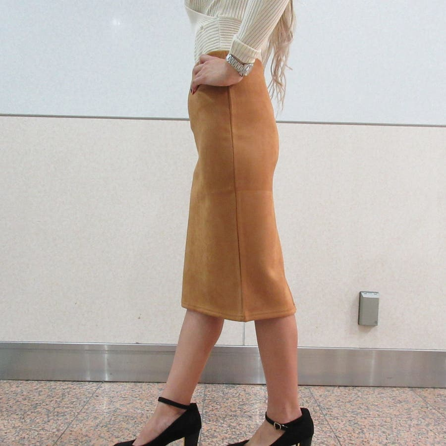 スウェードスカート 6