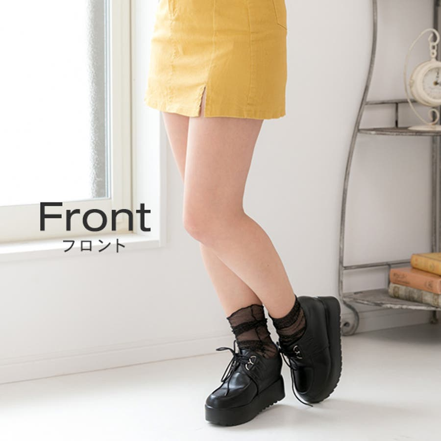 レディース靴 厚底靴 3色 春・夏...