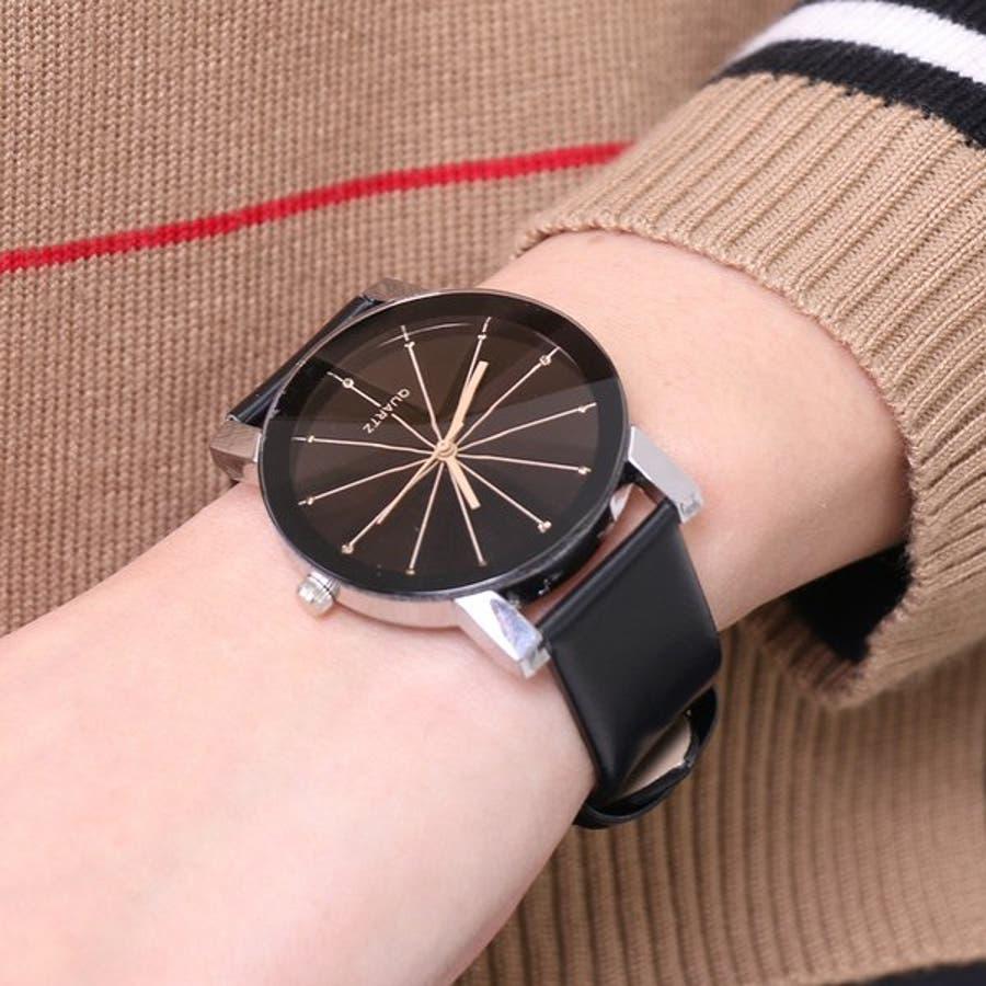0cf4e56cc0 ラジエーションラインラウンドウォッチ・腕時計 【アクセサリー アクセ ...