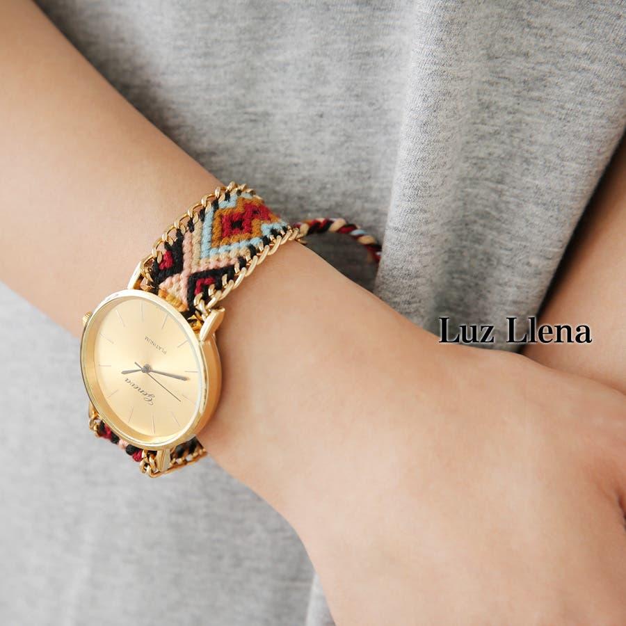 NEY(ニー)◆ミサンガウォッチ/腕時計(アクセサリー/ブレスレット/ボヘミアン/