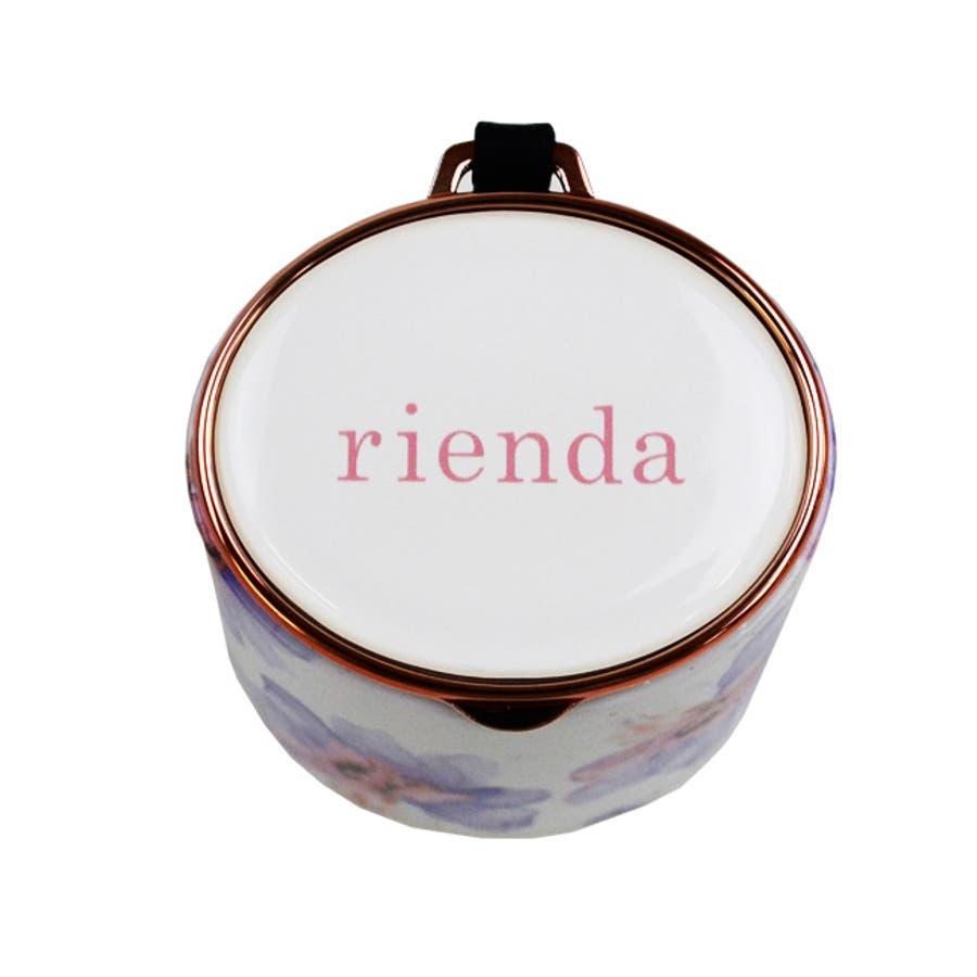 rienda リエンダ 花柄 iPhone Bluetooth (ブルートゥース スピーカー) 「ロージーフラワー」 軽量音楽小型花柄 ワイヤレス 10
