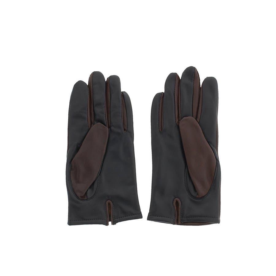 TAKA-Q:タッチパネル対応 シープレザーグローブ/手袋 6