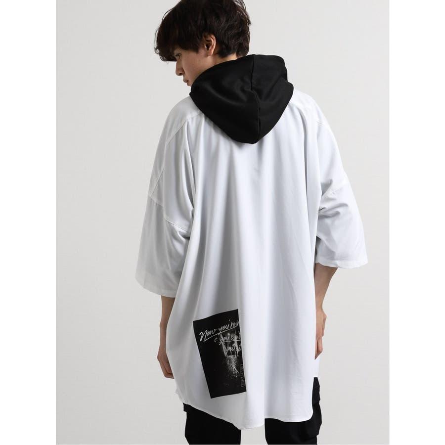 エステル転写プリント半袖BIGシャツ 6
