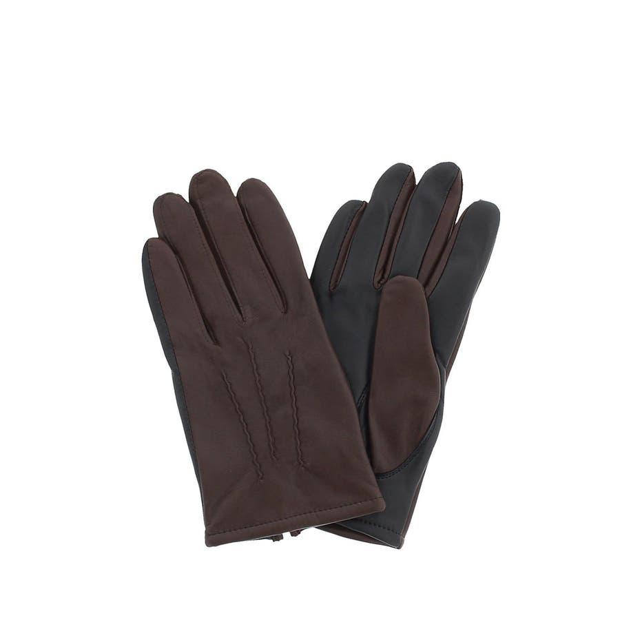 TAKA-Q:タッチパネル対応 シープレザーグローブ/手袋 2