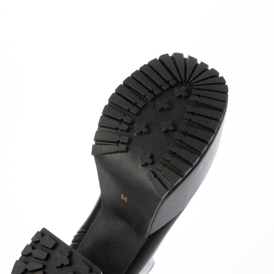 Mafmof(マフモフ) サイドゴア 厚底ブーツ 101wca 8