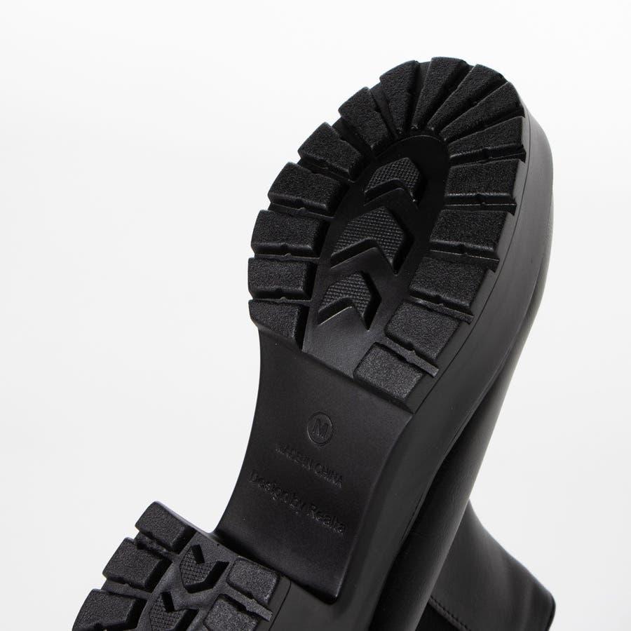 Mafmof モールドタンク底サイドゴアミドル ブーツ 7