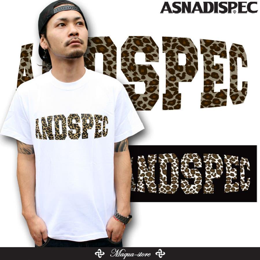 ASNADISPEC メンズ Tシャツ 1