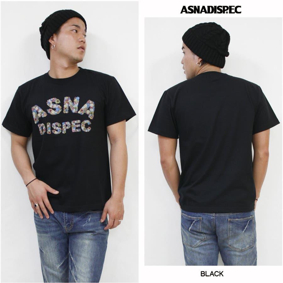 ASNADISPEC Tシャツ メンズ 4