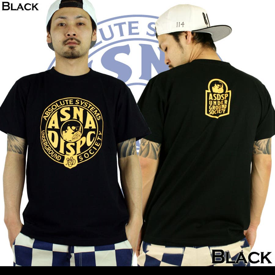 ASNADISPEC メンズ Tシャツ 3