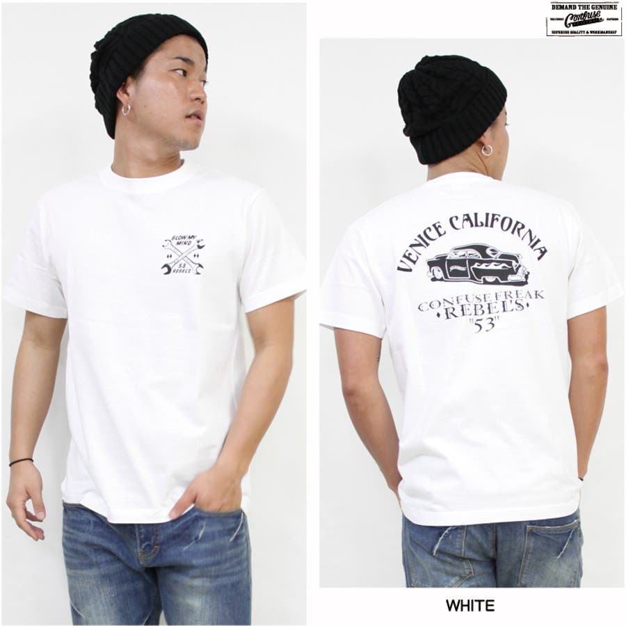 CONFUSE Tシャツ メンズ 3
