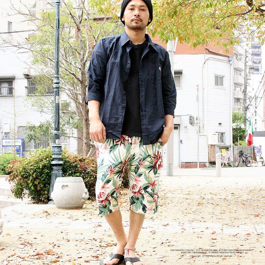 ショートパンツ 花柄 ショーツ ハーフパンツ メンズ 半ズボン プリペラ ストリート系 ファッション 大きいサイズ