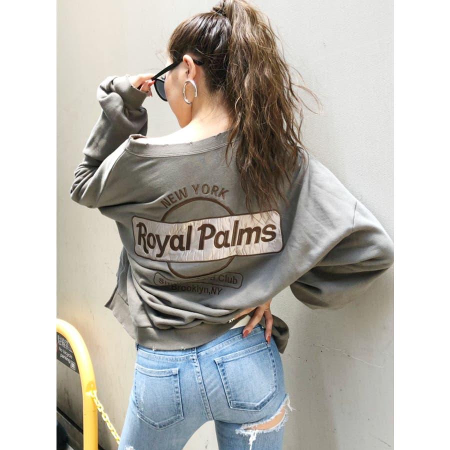 RoyalPalmsスウェットドルマンTOPS 53