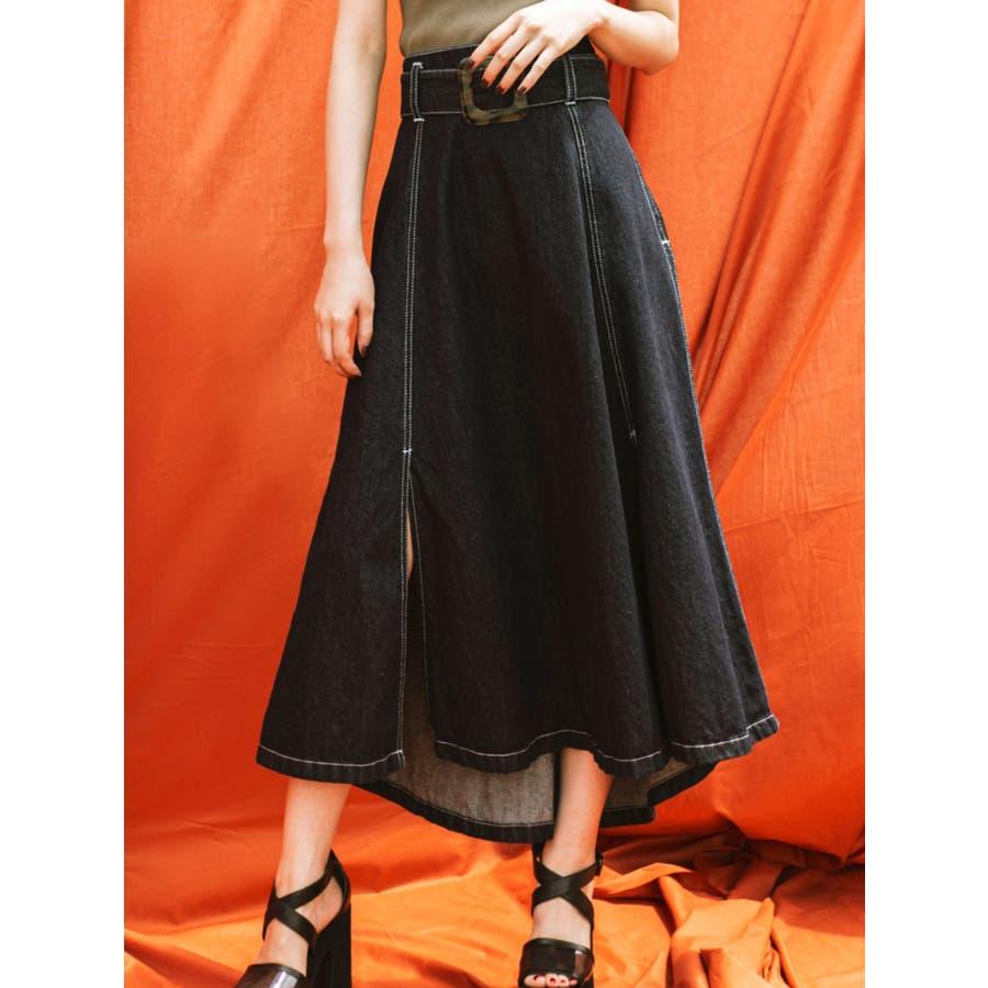 アシメデザインスカート 1