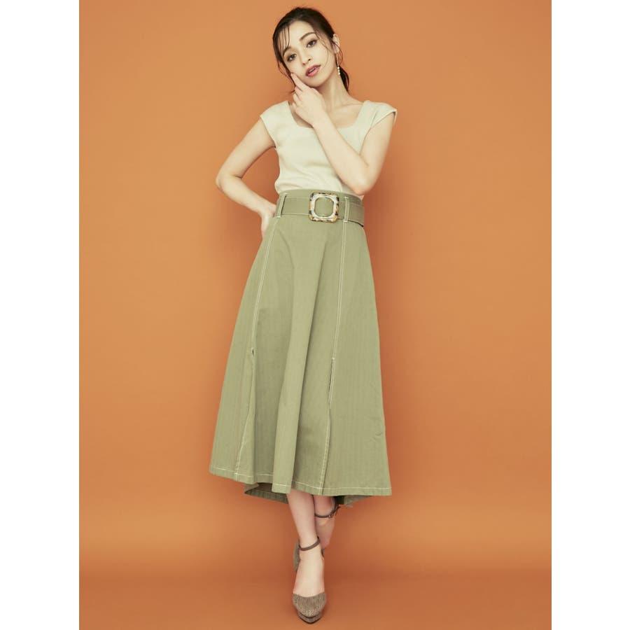 アシメデザインスカート 3