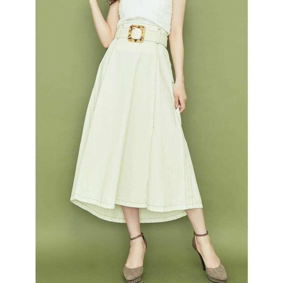 アシメデザインスカート 18