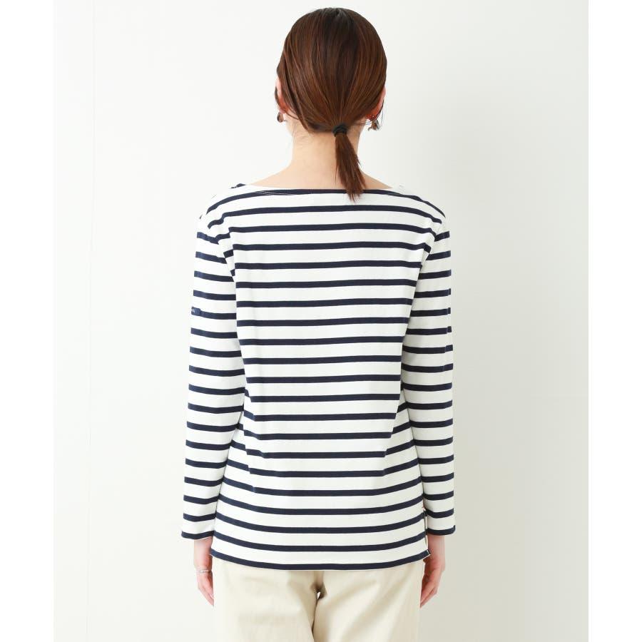 フレンチボートネックボーダー長Tシャツ 3