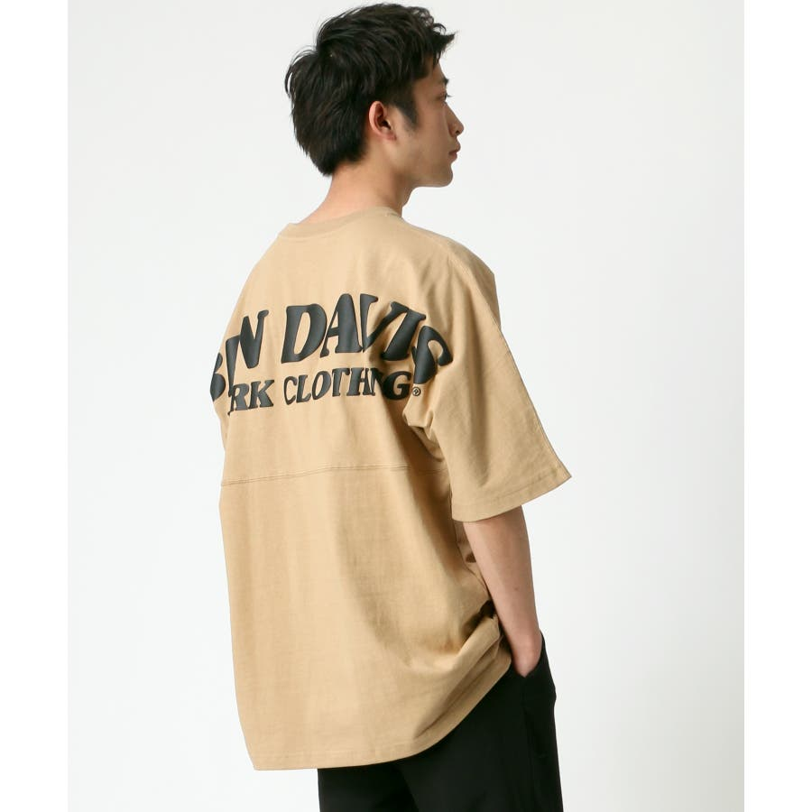 BEN DAVIS/ベンデイビス ビッグシルエット ロゴ バックプリント Tシャツ 33