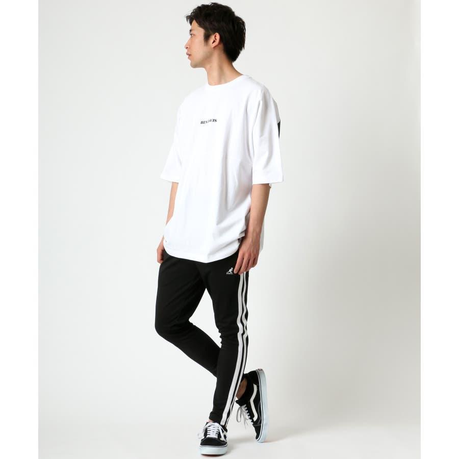 BEN DAVIS/ベンデイビス ビッグシルエット ロゴ バックプリント Tシャツ 4