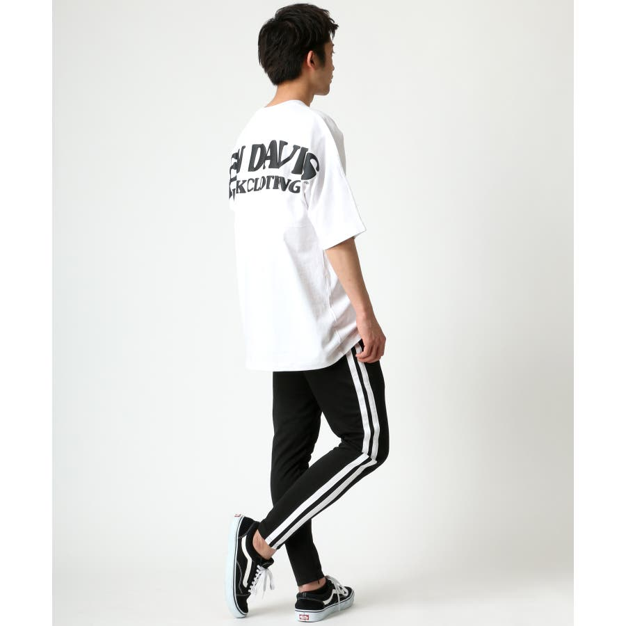 BEN DAVIS/ベンデイビス ビッグシルエット ロゴ バックプリント Tシャツ 5