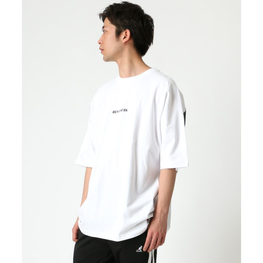 BEN DAVIS/ベンデイビス ビッグシルエット ロゴ バックプリント Tシャツ 1