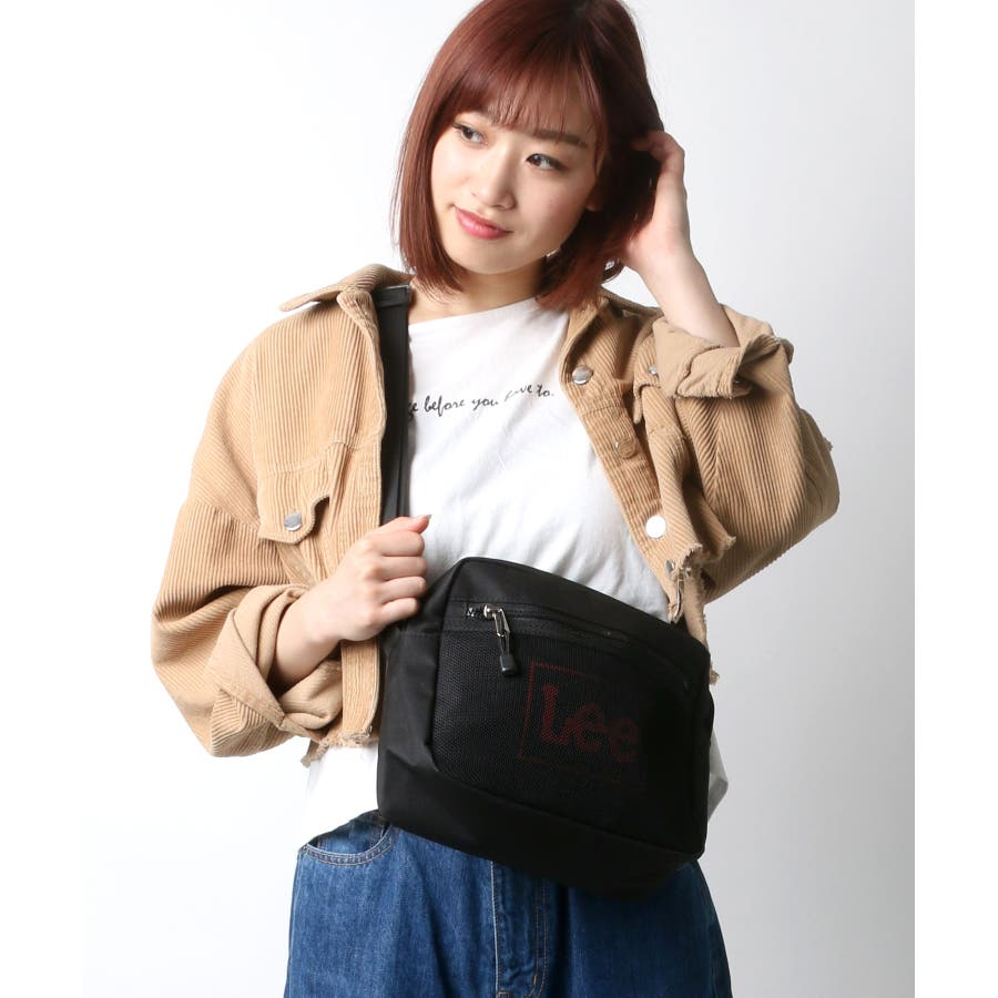 【Lee】フロントメッシュミニショルダーバッグ 2