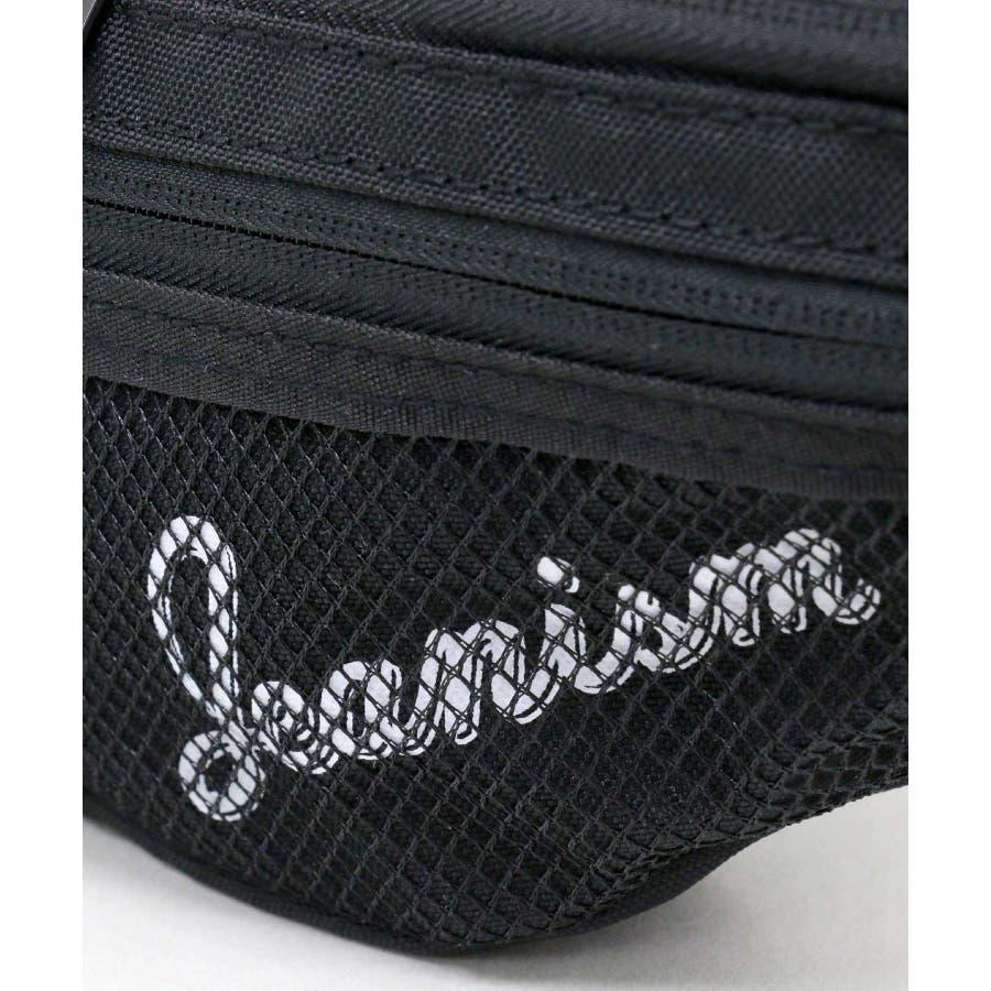 Jeanism EDWIN/ジーニズム エドウイン ロゴプリント メッシュポケット ウエストバッグ 8
