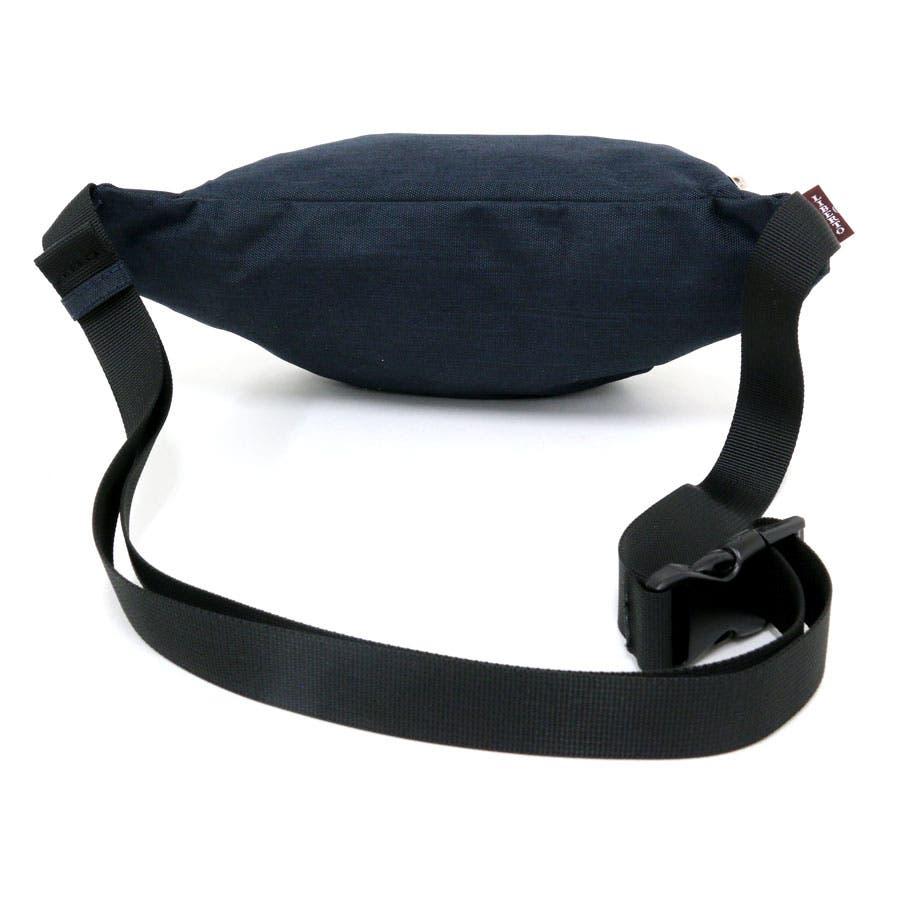 リベルト エドウィン ウエストバッグ メンズ 冬 ポリエステル100% ブラック【 男女兼用 ボディバッグ かばん 大容量 シンプルプレゼント 】 5