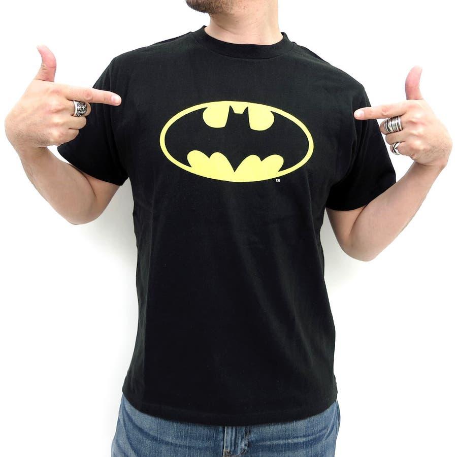 もうダサいとは言わせない! バットマンTシャツ メンズ DCコミック アメカジ ストリート ペアルック tシャツ 白 黒 半袖  カジュアル レディース BATMAN 爆死