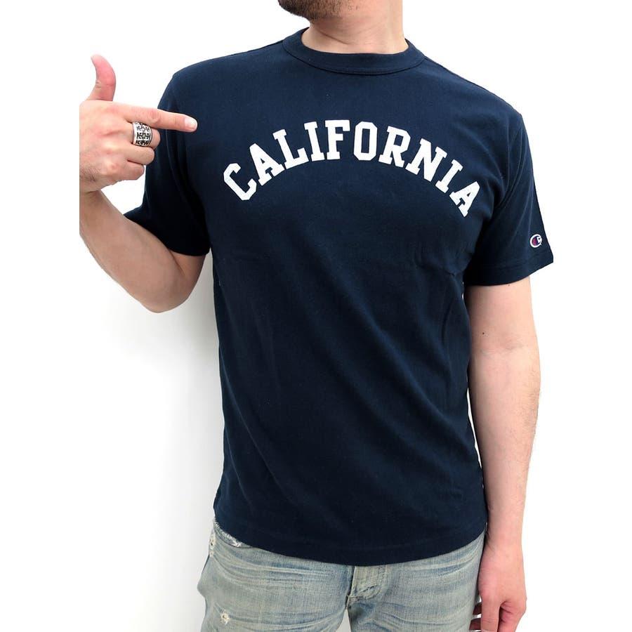 色々使えて最高! チャンピオン Tシャツ 半袖 メンズ ロゴプリントT アメカジ カレッジ スポーツ 柄 ストリート ブランド  ティーシャツ カレッジロゴ XL LL 2015 春夏 champion おしゃれ かっこいい 爆沈
