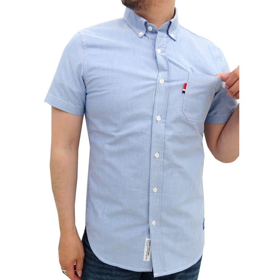 どんなコーデ/styleにも合わせ易い メンズファッション通販ディッキーズ オックスフォードシャツボタンダウン  Dickies ストリート ワーク ブランド シャツ メンズ 半袖 無地 カジュアルシャツ トップス 白シャツ 綿 コットン XL LL メンズファッション 遺伝