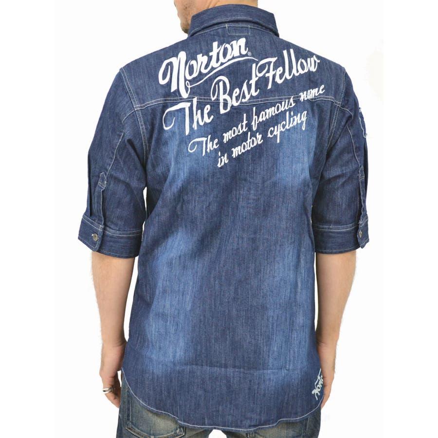 値段も安く商品もしっかりしている メンズファッション通販大きいサイズ メンズ シャツ5分袖 キングサイズ 3L 夏  ストレッチ デニム ワイヤー 刺繍 ワッペン ペイズリー バイカー 半袖 ユニオンジャック 植木