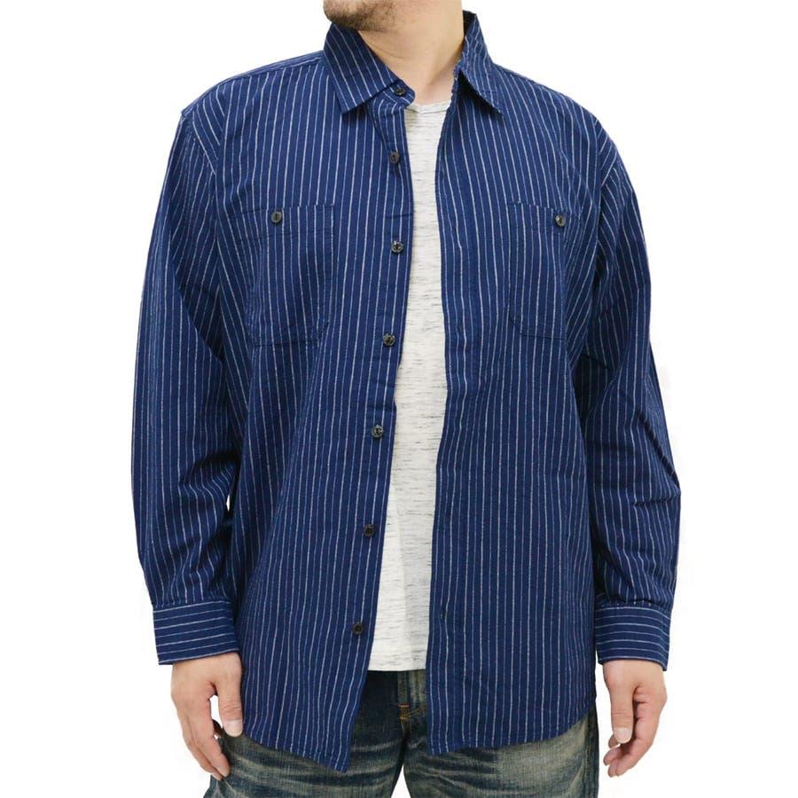 成功ファッション 大きいサイズ メンズ シャツ 長袖半袖Tシャツ付き キングサイズ  2L 3L 4L 5L 6L  アンサンブル きれいめ シンプル 清潔感 無地 ストライプ Tシャツ 五指