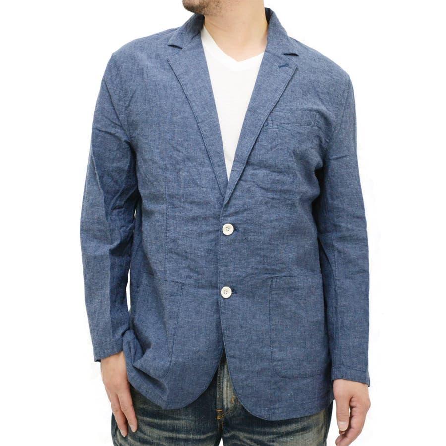 大人コーデに格上げ メンズファッション通販大きいサイズ メンズ ジャケット麻混 キングサイズ 2L 3L 4L 5L 6L  きれいめ シンプル 清潔感 リネン テーラード アウター スーツ ベージュ ブルー 青 ネイビー 豪飲
