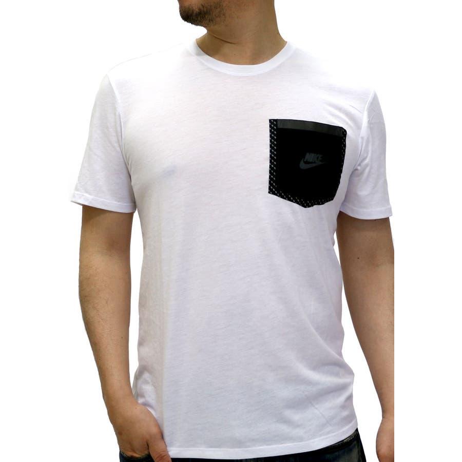 デザインもイメージ通り ナイキ Tシャツ メンズ 半袖 リフレクティブ ポケット739599  NIKE スポーツ トレーニング ランニング カジュアル ストリート XL LL Tシャツ半袖 リフレクタープリント ポケット付き 愚行