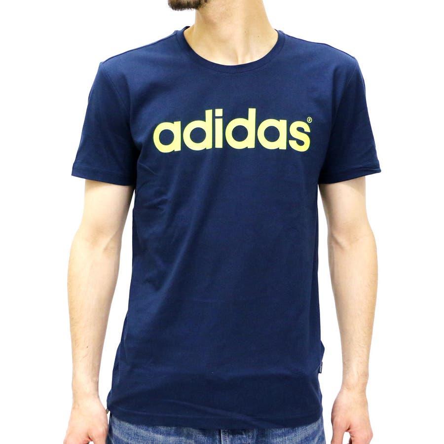 楽ちんな着心地を実現 メンズファッション通販アディダス Tシャツ メンズ 半袖 ロゴプリントアディダスネオ  adidas neo スポーツ トレーニング ランニング カジュアル コットン ロゴ ブランド Tシャツ半袖 XL LL メンズファッション AK0944 博打