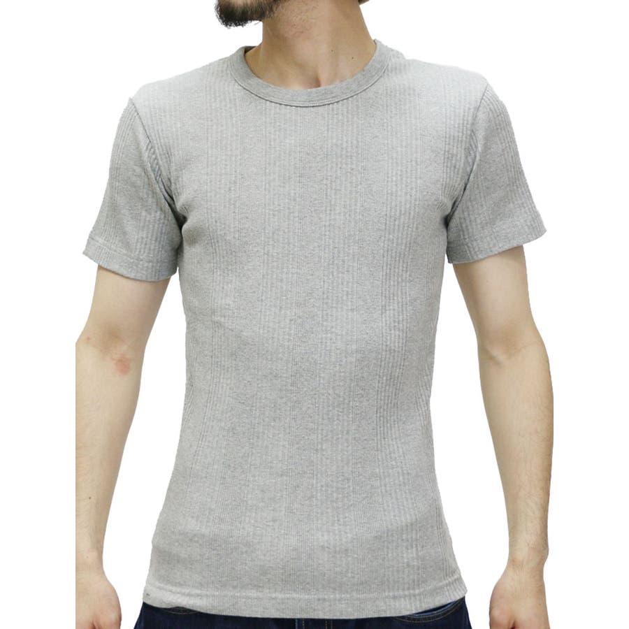 上品にまとまる メンズファッション通販エドウィン Tシャツ メンズ ストレッチ ジャガードリブ クルーネック Tシャツ 半袖  EDWIN ブランド ストレッチティーシャツ 無地 アメカジ インナー カジュアル XL LL Tシャツメンズ カットソー 経営