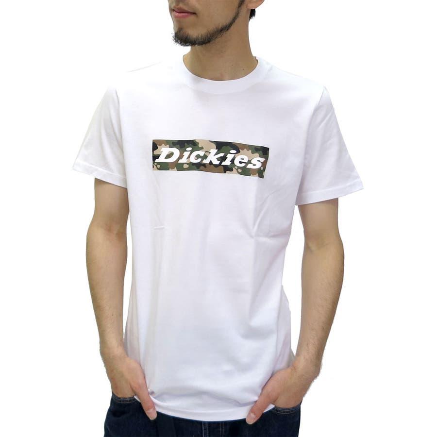 とても気に入りました! メンズファッション通販ディッキーズ Tシャツ メンズ ボックスロゴ プリント Tシャツ 半袖  Dickiesアメカジ ストリート カジュアル ワークブランド XL LL ティーシャツ 迷彩 カモフラ Tシャツメンズ 愚人
